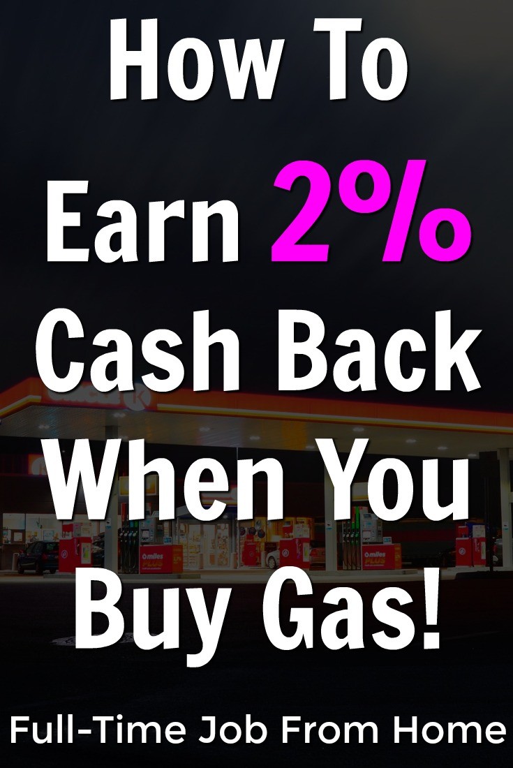 Almost all of us purchase gas. Did you know you could be earning up to 2% cash back everytime that you get gas? You can then exchange that money towards gas at your next purchase!