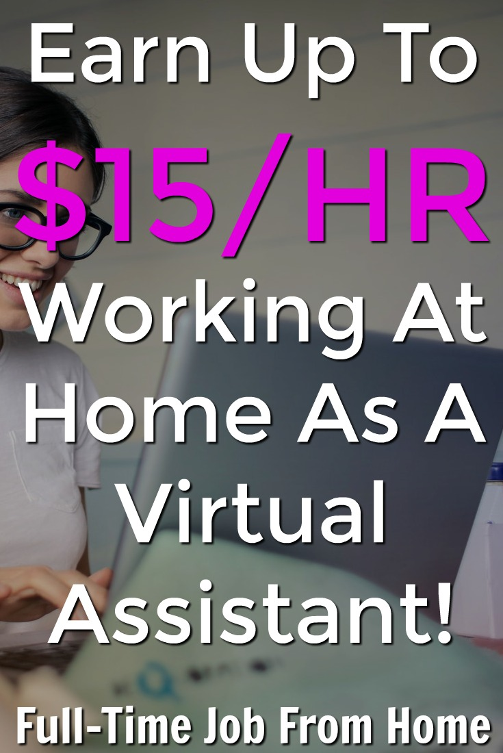 Learn How You Can Work From Home as a Virtual Assistant and Make Up To $15 an Hour!