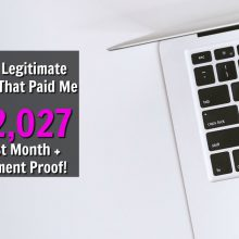 Are you looking to make an extra income online? Make sure to check out these 15 Extra Income Sites That Paid Me Over $2,000 Last Month! I'll even show you payment proof!
