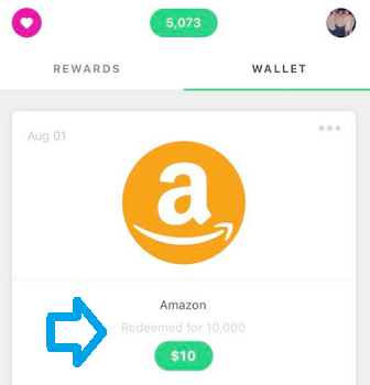 earnwithdrop payment proof gift card