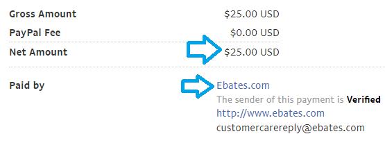 ebates.com payment proof