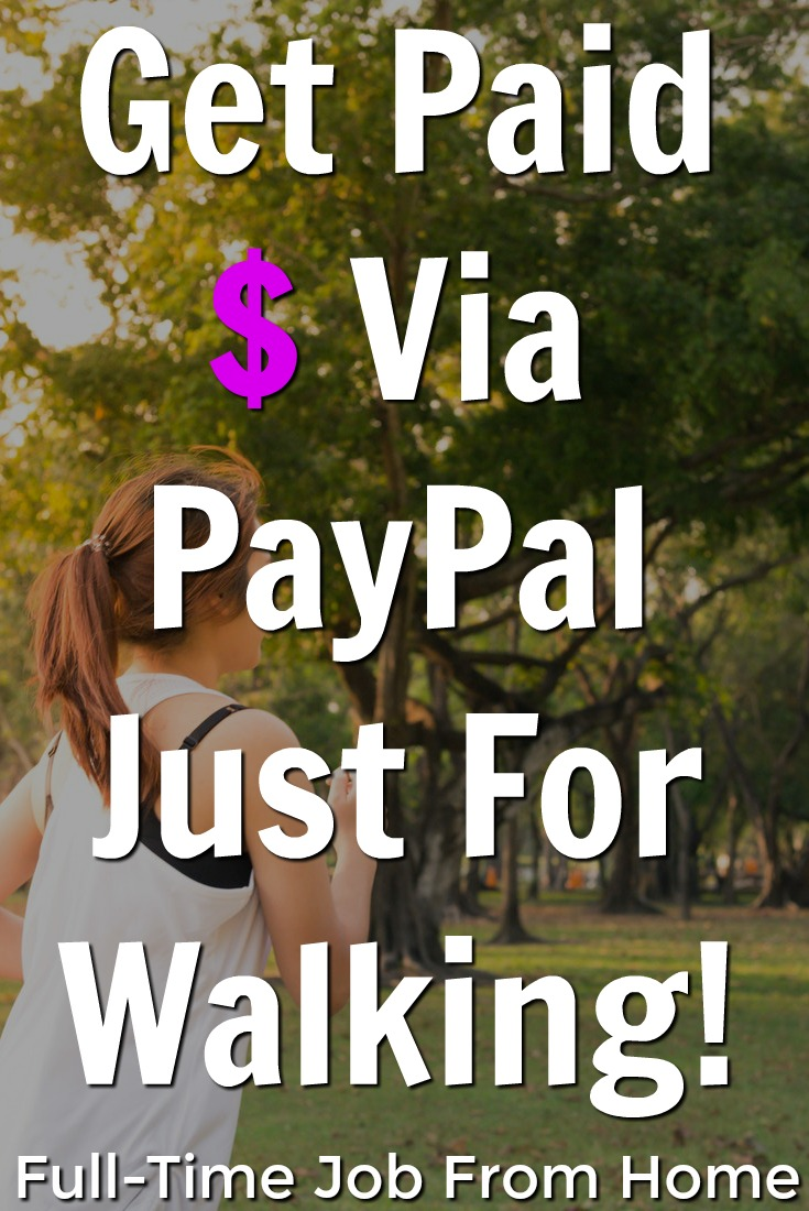Learn How You Can Get Paid Cash Via PayPal Just For Walking and Meeting Your Daily Step Goal With SpryFit!