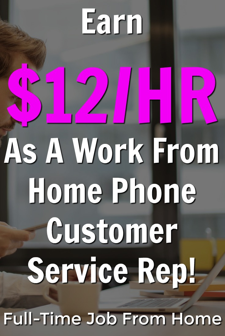 Learn How You Can Earn Up To $12?HR Working At Home as A Customer Service Rep For Direct Interactions!