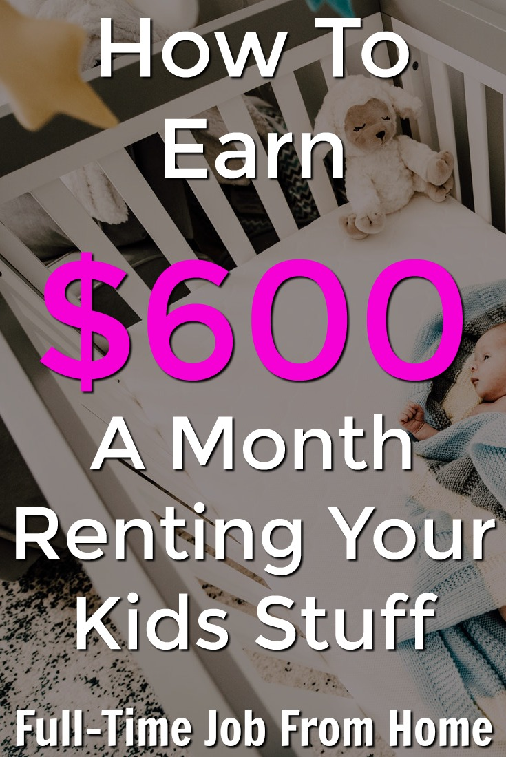 Learn How You Can Earn $600 A Month Just By Renting Your Kid/Baby Stuff With GoBaby!