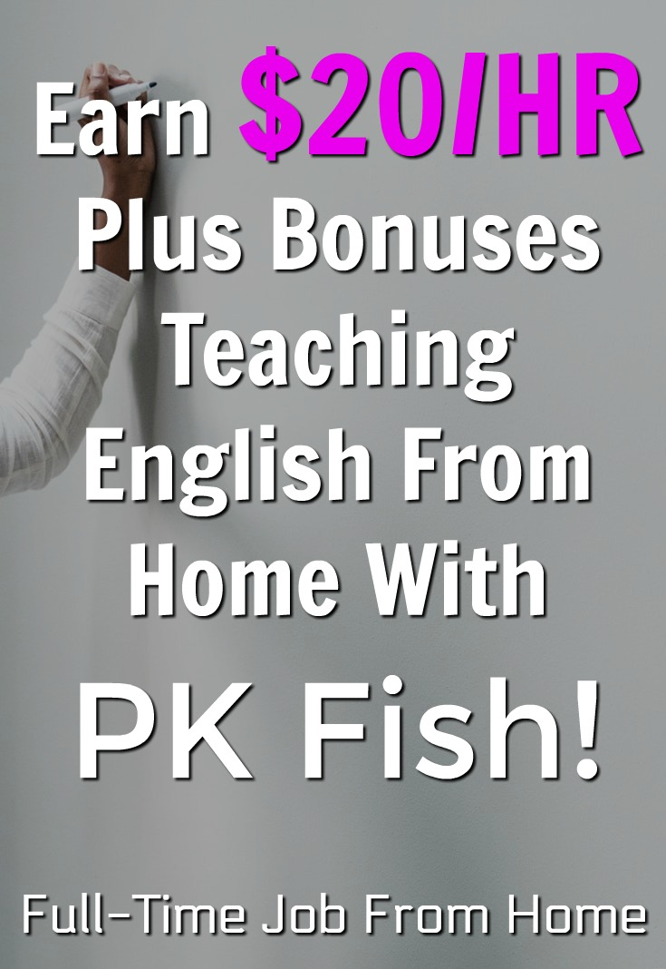 If you're looking for a work from home job learn how you can get paid to work at home and teach English to Chinese children and make $20/Hr plus bonuses!