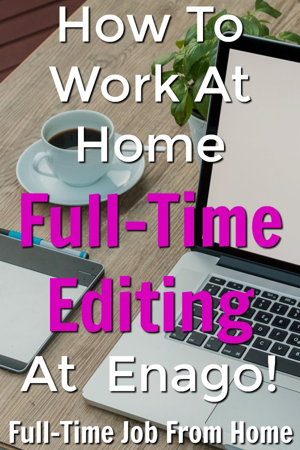 Learn how you can work at home part or full-time editing in most countries for Enago!