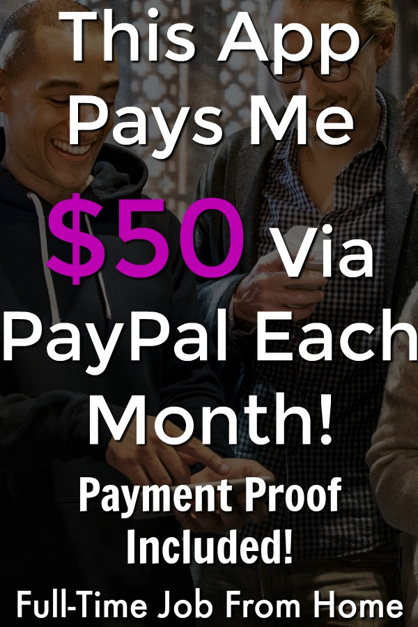 This app pays me $50 each month via PayPal! See the 4 ways to earn, tons of ways to get paid, and proof they pay in my review!