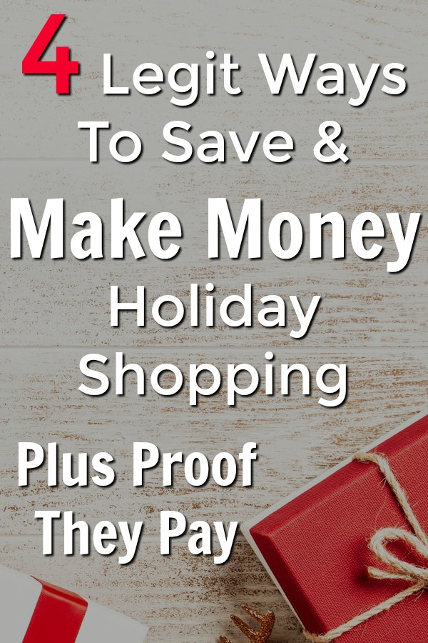 We all will be doing some holiday shopping here soon, why not save as much money and earn as much cash back as possible! With these 4 apps you can save as much money holiday shopping as possible!