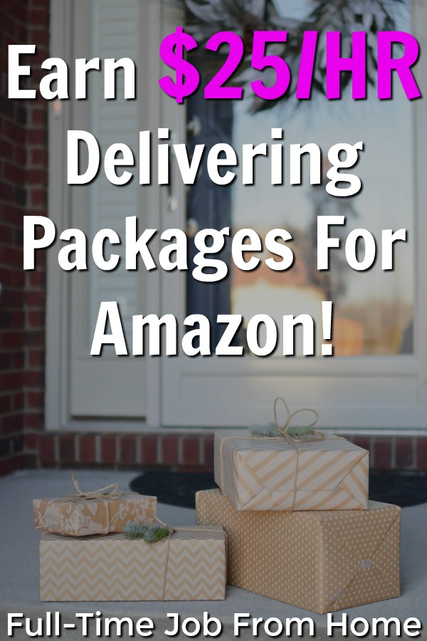 Learn How You Can Make Up To $25 an Hour Delivering Packages in Your Local Area for Amazon!