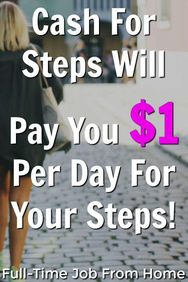 Did you know you could be earning cash for your steps? Cash For Steps will pay you $1 for everyday that you're in the top 50 of all users!