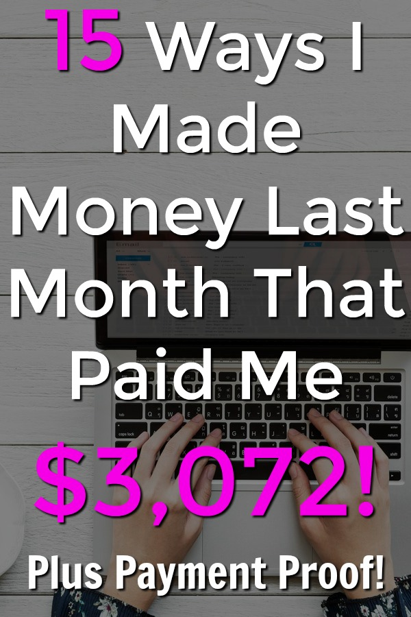 If you're looking to make money online make sure to check out these 15 sites that paid me over $3,000 in December! I'll even show you proof they pay and how to earn a sign-up bonus!