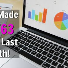 Last month I made $5,763 online. Learn How I Make A Huge Passive Income Online and where you can go to see if it's right for you for completely free!
