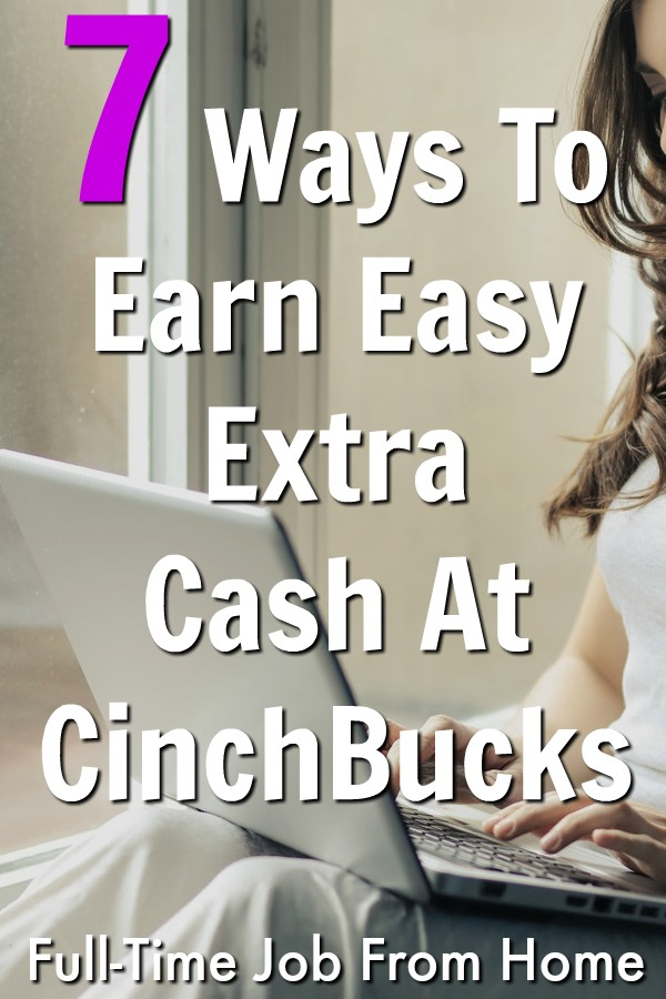 If you're looking to make extra money online, check out these 7 easy ways to earn at Cinchbucks! But is it really worth your time or are there better ways to make money from home?