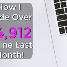 If you're looking to make money online or work from home, check out how I made over $4,912 online last month and how you can get started too for free!