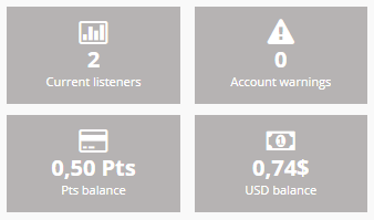 radioearn account