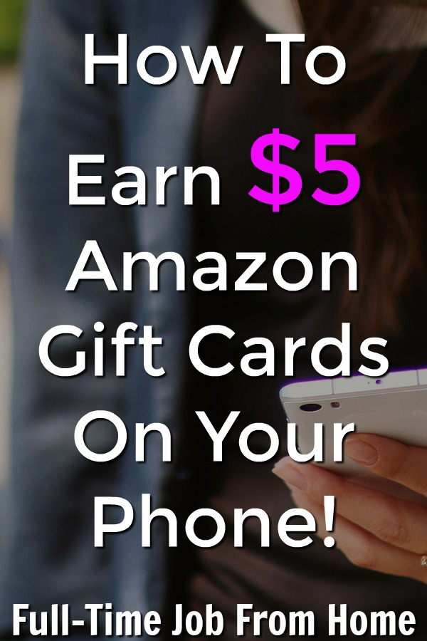 If you're looking to make an extra income on your phone, learn how you can earn $5 Amazon gift cards taking surveys on the go with the SurveyMonkey Rewards App!