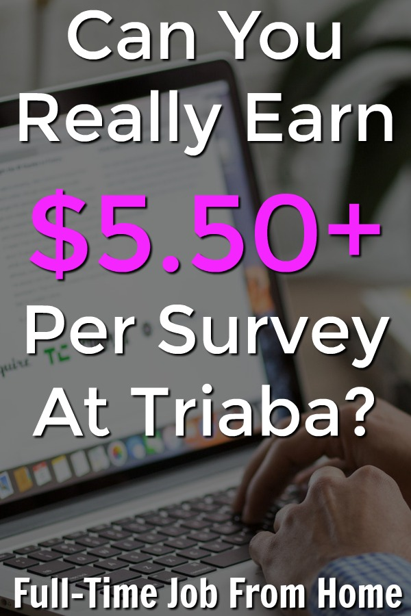 Triaba is a new survey site available worldwide that claims that you can make $.50 to $5.50+ for every survey you take? Is this the new best survey site online or just a complete scam?