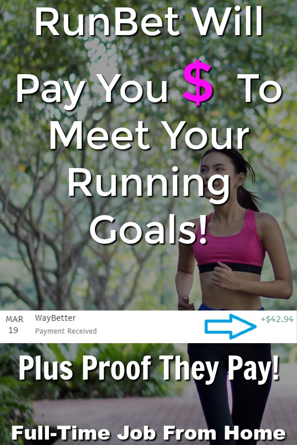 If you're looking for extra motiviation to meet your running goals, I have a perfect app for you! RunBet will pay you cash via PayPal if you meet your running goals!