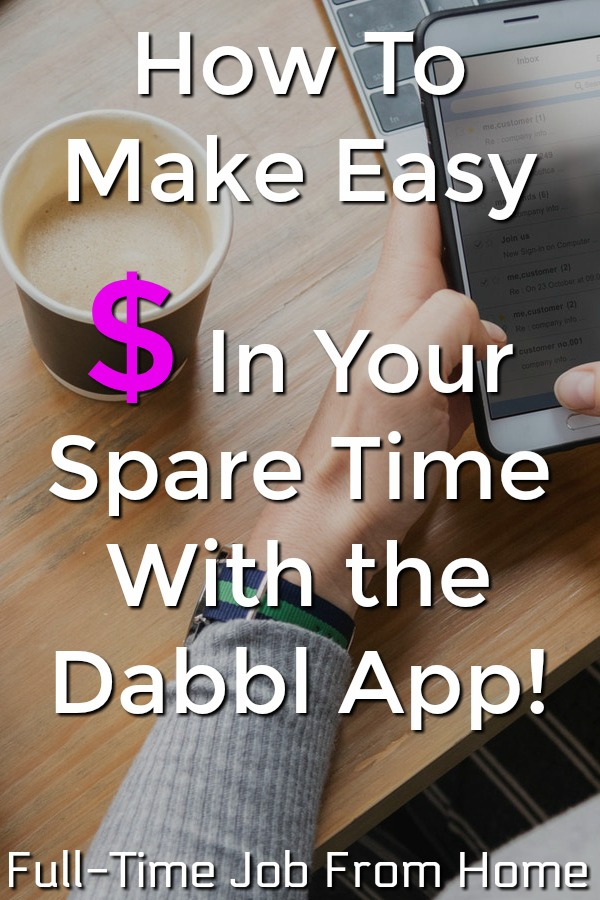 Are you looking to make easy extra money in your spare time on your phone? Learn how you can earn $5 gift cards in your down time with the Dabbl App!