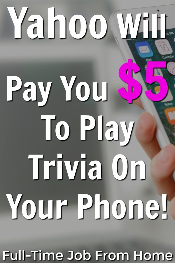 If you love playing trivia on your phone you're going to love this app. Learn how Yahoo will give you $5 gift cards for playing trivia and watching videos on your phone!