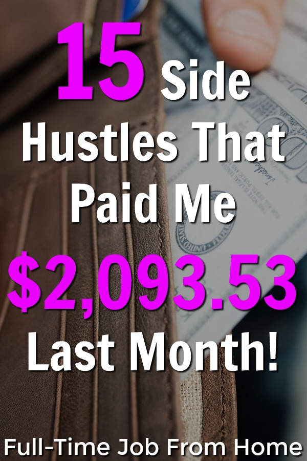 If you're interested in making a real income online, make sure to check out the 15 side hustles that paid me over $2,000 last month! I'll even show you proof that they pay!