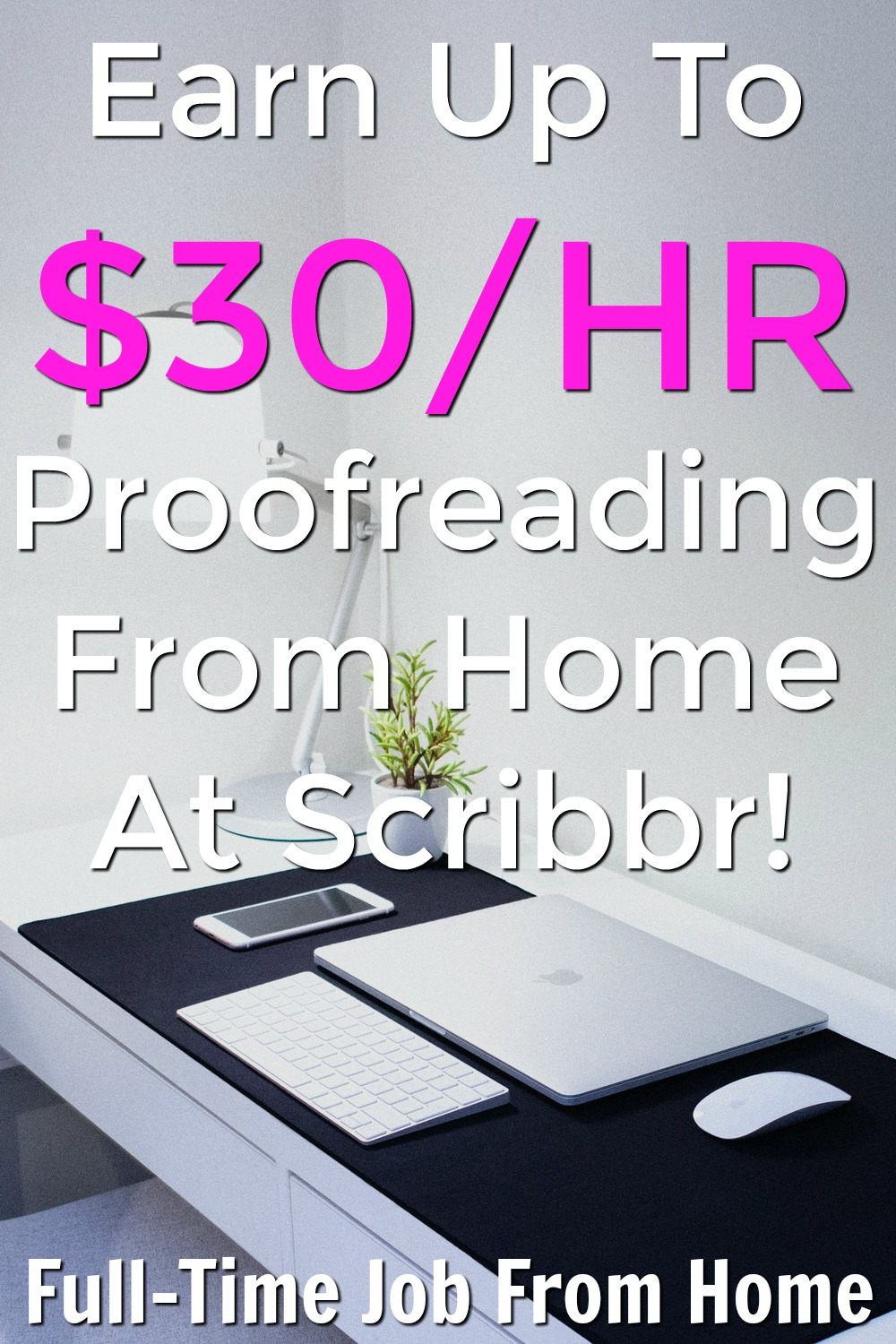 Did you know you can work from home as a proofreader and make up to $30 an hour? At Scribbr you can pick up editing jobs and get paid a great wage all from the comfort of your home!